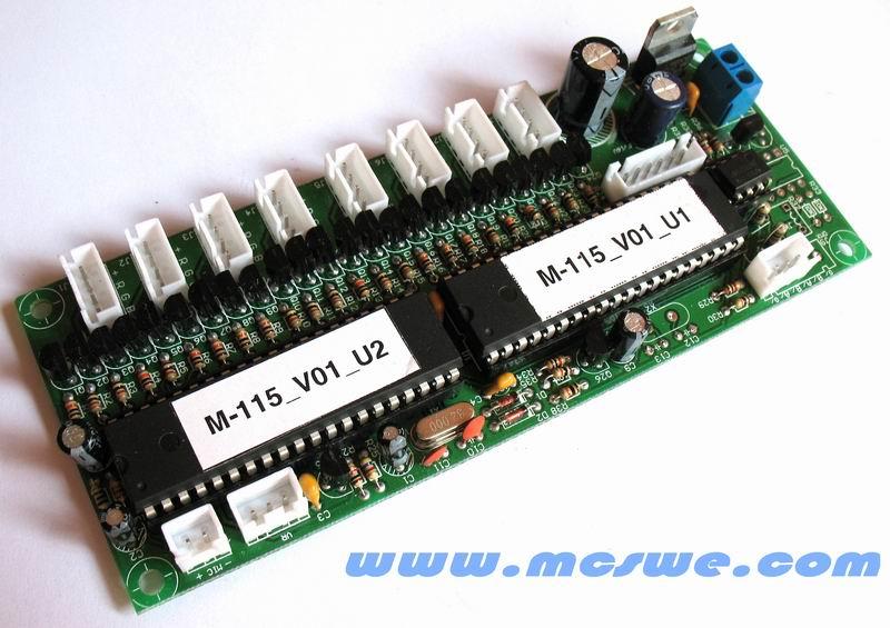 条型led跑马灯dmx解码控制板洗光灯led效果灯